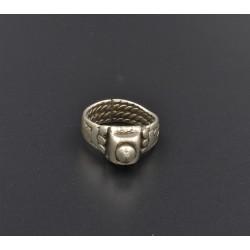Vecchio anello indiano in AG 925%