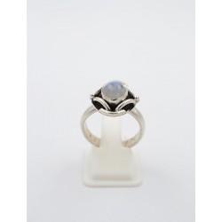 Anello in argento 925/°°° e pietra di luna