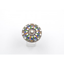 Anello in argento 925 e smalti
