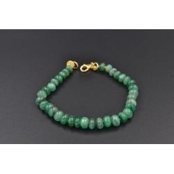 Bracciale di smeraldi