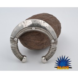 Vecchio bracciale in argento 925/°°° indiano