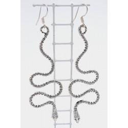 Orecchini snake in AG 925/°°°