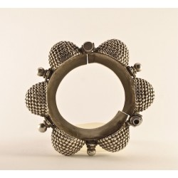 Bracciale in argento, Rajasthan